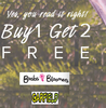 Bra & Briefs : Buy 1 Get 2 Free + 10% off from Rs. 295