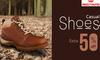 Upto 40% & Extra 50% Cash Back on Redtape & Woodland shoes