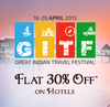 Get Flat 30% discount on hotels