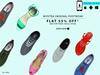 Flat 55% off on selected Footwear