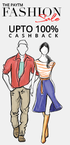 Upto 80% off on all Fashion Categories