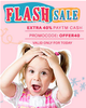 Extra 40% cash back on DIapers &Baby & Kids Bestsellers