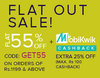 Buy 1 & Get 1 + Extra 25%  cashback through Mobikwik
