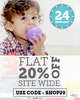 Get Flat 20% off on New Arrivals