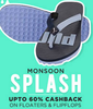 Get Upto 60% cashback on Apparel, Footwear & Accessories
