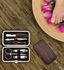 Celestial 6-In-1 Stainless Steel Nail Clippers Manicure Set Kit
