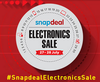 Snapdeal Electronic Sale