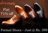 Upto 70% off on Men's Footwear & Clothing