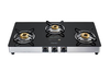 Pigeon Blackline Square Stainless Steel Auto Gas Stove 3 Burner   (Get 50% cashback)