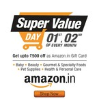 Amazon- Super Value day (1st & 2nd Aug)