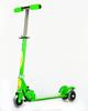 3 Wheel Height Adjustable Kids Folding Scooter for Indoor & Outdoor Fun (Green)