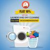 Flat 10% off on Laundry & Dry Cleaning