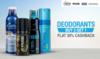 Deodorants Buy 2 Get 1 Free + Flat 30% Cashback