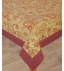 Bianca Stylish Tapestry Table Cloth In Light Sage