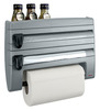 Primeway Combo Roll N Roll Organizer with Storage Rack ( 4 in 1)- Grey