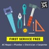 Urbanclap First Service Free & other offers