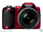 Nikon COOLPIX L120, 14.1 MP 21x for Rs. 10899 at eBay