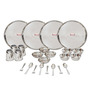Shubham 24-piece Stainless Steel Dinner Set + Get extra 15% Paytm Cashack
