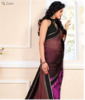Buy georgette saree with blouse online at best price in india