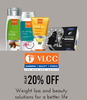 Get Flat 20% off on VLCC Beauty Products