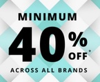 Trendin : Minimum 40% Off  (All Brands) + Additional 30% Cashback through Paytm.