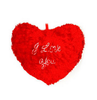 Deals India Musical Soft Red Jumbo Heart Cushion(18X16 inch)  (Get 40% cashback)