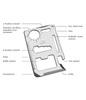 Aecone 11 In 1 Multipurpose Pocket Size Tool