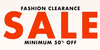 Fashion clearance sale upto 70% off on more