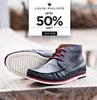 Upto 50% off on Louis Philippe Footwear @Trendin