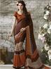 Triveni SareesCoffee Printed Saree