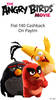 Get Flat Rs.40 Cash Back on The Angry Birds Movie Tickets