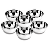 Stainless Steel Bowls ( Set of 6pcs )