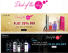Get Flat 20% off on Lakme & Tresemme