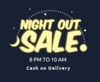 Night out sale