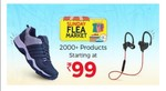 Shopclues - Sunday Flea Market || Products Starts from 79 rs + Extra 50 rs off on Buying 2 products & Extra 30 rs off on min. 199 rs