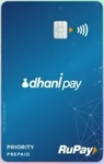 DhaniPay RuPay card with 2 FREE movie tickets, Airport Lounge Access etc