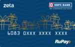 (HDFC user) Buy ZETA HDFC RuPay Virtual/Physical Gift card
