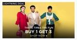 Jabong Fashion Sale : Buy 1 Get 2 More Free