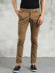11523865489891 breakbounce men brown skinny fit solid chinos 5651523865489632 1