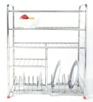 Stainless Steel Utensil Rack -24 X 10 Inches 62% Off