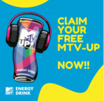 Delhi Only : MTV-UP Energy Drink FREE trial delivered to ur home