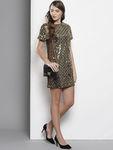 DOROTHY PERKINS Women Sequinned Shift Dress