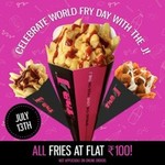 The J Cafe : Your favourite fries, milkshakes & burgers for FLAT ₹100