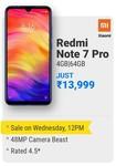 Redmi Note 7 Pro Sale on 24th July 2019 | 12PM