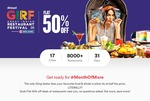 Dineout GIRF (Aug 2019): Flat 50% Off Food & Alcohol