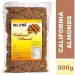 Scorist California Almonds 500g {Pack of 2 (1 KG)} @ Rs 628 | FREE Shipping | Flat 20% OFF