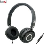 boAt Bassheads 900 Black Over-ear Wired Headphone ( Black )