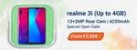 Realme 3i Special Open sale