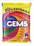 Cadbury Gems Chocolate, 10.68 g (Pack of 84)