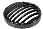 AllExtreme EXHBGS1 Bike Head Light Grill (Black)
